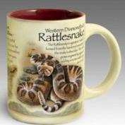 American Expediton CM15-142 Rattlesnake Stoneware Coffee Mug
