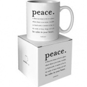 Quotable Cards Quotable Peace Mug