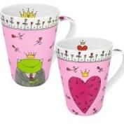 Konitz 4210320352 Mugs Princess-Prince of My Heart - Set of 2