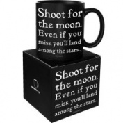 Quotable Cards Quotable Shoot for The Moon Mug