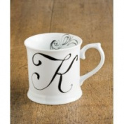 Rosanna Initially Yours Mug - Letter K