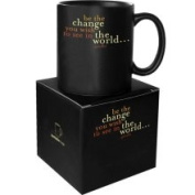 Quotable Cards Quotable Be The Change Mug
