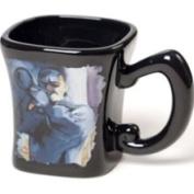 Stealstreet Black Ceramic Coffee Mug with Jazz Blues Trumpet Musician Decoration