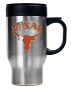 Great American Products Texas Longhorns NCAA Stainless Steel Travel Mug