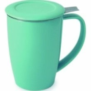 Forlife Tall 440ml Tea Mug with Infuser and Lid and Lid, Turquoise