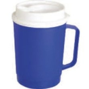 Rolyn Prest Extra Large Insulated Blue Mug - Each