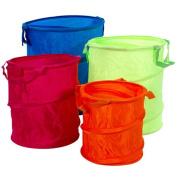 Redmon 6114 Bongo Baskets/Multi-Colors Orange Hot Pink Green Blue smallest to largest