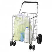 Honey Can Do CRT-01640 Dual Wheel Utility Cart