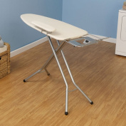 Household Essentials WideTop Ironing Board in Satin Silver