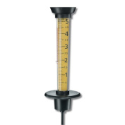 Taylor Precision Products 2704 - Jumbo Rain Gauge & Thermometer
