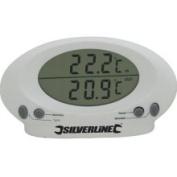 Silverline 675133 Indoor/Outdoor Thermometer
