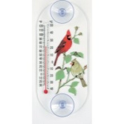 Aspects 062 Cardinal Pair Window Thermometer