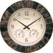 Chaney 02418 Clock 35.6cm . Plastic Resin