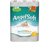 Angel Soft Bathroom Tissue 2-Ply Unscented - 24 CT 77216