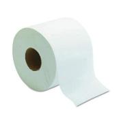 Morcon Paper M1500 White 1 Ply Millennium Bathroom Tissue