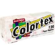 Colortex Paper Napkins, Single Ply - 120 paper napkins