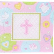Sweet Blessing Pink Lunch Napkins