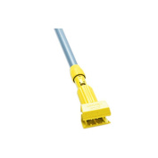 Rubbermaid H245 Gripper Clamp Style Wet Mop Handle, Plastic Yellow Head, Fibreglass Handle - 137.2cm in Length