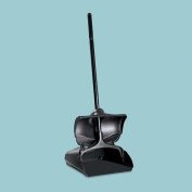 Rubbermaid-Black LOBBY Pro Upright Dust Pan with Self Opening/Closing
