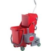 Unger COMBR 30 Litre Red Combo Restroom Bucket