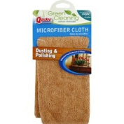 Quickie Green Cleaning Cloth, Microfiber, Dusting & Polishing