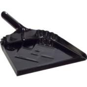 DQB 30.5cm Black Metal Dust Pan 72539