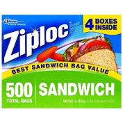 Ziploc Easy Open Tabs Sandwich Bags 125 count