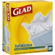 Glad Quick-Tie Tall Kitchen Bags, 49.2l - 80 bags
