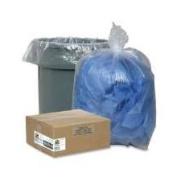 Genuine Joe GJO01010 Trash Can Liner- 7-10 Gallon- .6Mil- 24in.x23in.- Clear