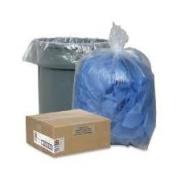 Genuine Joe GJO01014 Trash Can Liner- 55-60 Gallon- .8Mil- 38in.x58in.- Clear