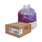 Genuine Joe GJO01013 Trash Can Liner- 31-33 Gallon- .6Mil- 33in.x39in.- 2- Clear