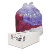Genuine Joe GJO01015 Trash Can Liner- 40-45 Gallon- .6Mil- 40in.x46in.- 2- Clear