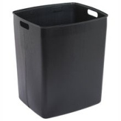Continental Mfg. Co. CMC6451BK Receptacle Rigid Liner- 45 Gallon- 20-.50in.x24-.25in.x21-.50in.- BK