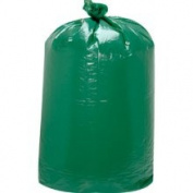 Trinity 111580 Light Green, 227.1l Giant 'Green' Low-Density Can Liners-38 x 58