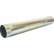 Dundas Jafine P4E20ZW Aluminium Snap Lock Pipe, 10.2cm x 61cm
