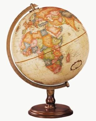 Replogle Globe 31536 Lenox Antique Globe, Off-White
