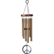 Woodstock Chimes WPCB Peace Chime Sm, Bronze