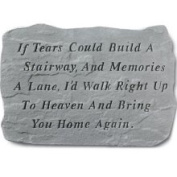 Kay Berry- Inc. 64620 If Tears Could Build A Stairway And Memories A Lane - Memorial - 18.5 Inches x 12.25 Inches