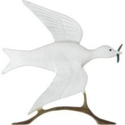 Whitehall Products 76.2cm Dove of Peace Weathervane Finish