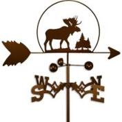 Swen Products Inc Handmade Wildlife Moose Weathervane