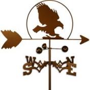Swen Products Inc Handmade Bald Eagle Bird Weathervane