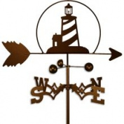 Swen Products Inc Handmade Nautical Lighthouse Weathervane
