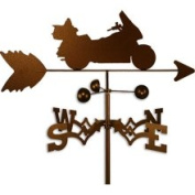 Swen Products Inc Handmade Gold Wing Motorcycle Weathervane