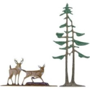 Whitehall Products 65556 Traditional Directions Deer Pines Weathervane