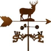 Swen Products Inc Handmade Deer Buck Weathervane