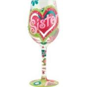 Sister My BFF Wine Glass by Lolita #117