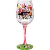 Girls Night in Wine Glass by Lolita #116
