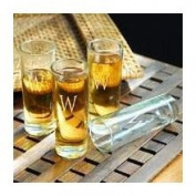Cathys Concepts 1166 Island Shooter Glasses - No Letter - Set of 4