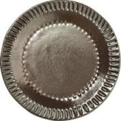 Vietri Incanto INC-1119A-M Metallic Stripe Canape Plate