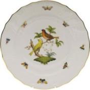 Herend Rothschild Bird Dinner Plate Motif #6